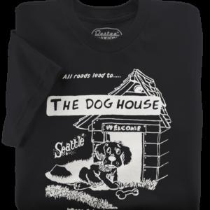 The Dog House Black T-Shirt