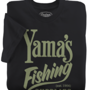 Yama's Fishing Supply Black T-Shirt