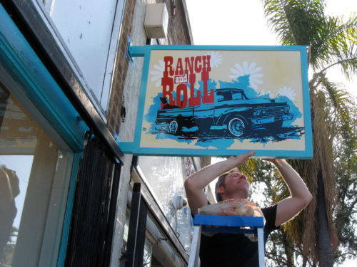 Ranch-n-Roll Ocean Blue T-Shirt