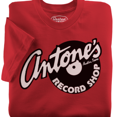 Antone's Record Shop t-shirts from Austin Texas