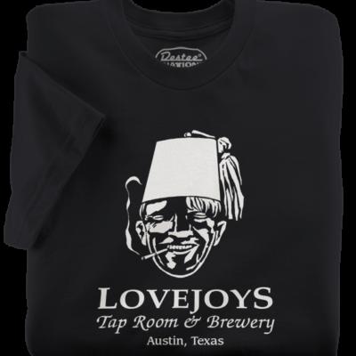 Lovejoys t-shirts from Austin Texas