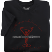 Marcus' Martini Heaven t-shirts from Seattle Washington