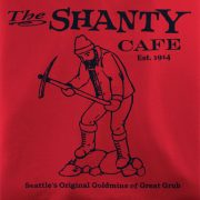 The Shanty Cafe T-Shirt from Seattle Washington
