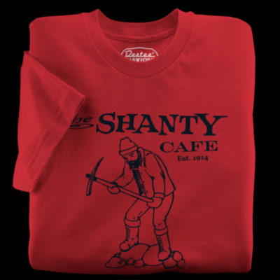The Shanty Cafe T-Shirt from Seattle Washington