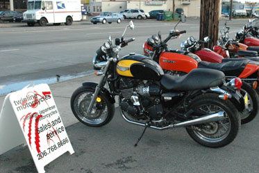 Twinline Motorcycles in Seattle Washington