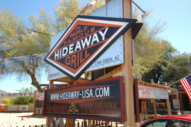 Hideaway Grill in Cave Creek Arizona