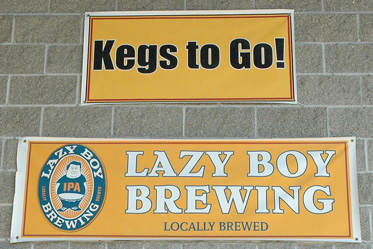 Lazy Boy Brewing t-shirts Everett Washington