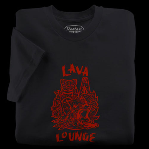 Lava Lounge Black T-Shirt
