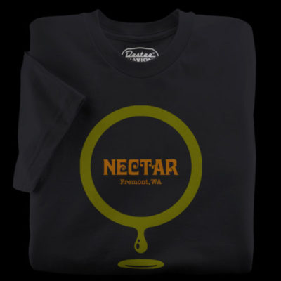 Nectar Lounge Black T-Shirt