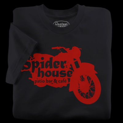 The SpiderHouse Black T-Shirt