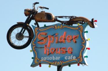 The SpiderHouse Black T-Shirt