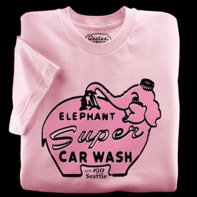 Elephant Car Wash Pink