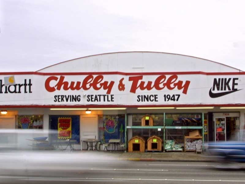 Direct From Seattle Washington Chubby and Tubby T-Shirt