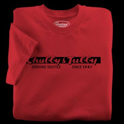 Chubby & Tubby red t-shirt
